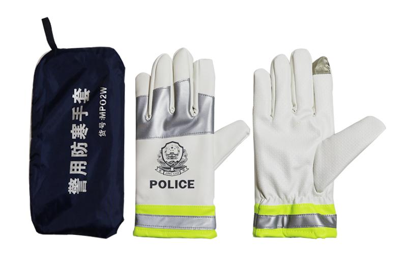 警察冬季棉手套
