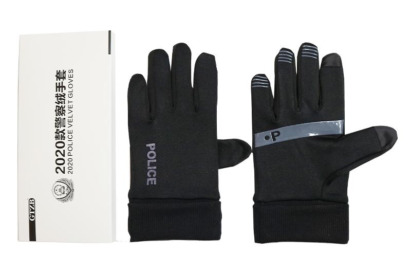 警察皮手套